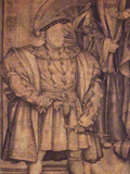 Portrait of the Day: Henry VII and Henry VIII