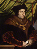 Sir Thomas More, after Hans Holbein the Younger, early 17th century (1527), NPG 4358