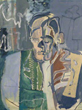 Patrick Heron: Studies for a portrait of T.S. Eliot