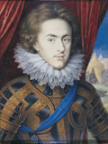 Henry, Prince of Wales, by Isaac Oliver, c. 1610-12,The Royal Collection Photo: Supplied by Royal Collection Trust / © HM Queen Elizabeth II 2012