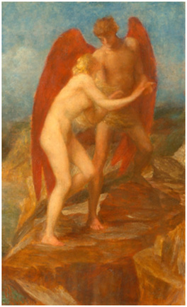 Love and Life, by George Frederic Watts, c. 1880-1889 ©Watts Gallery Trust