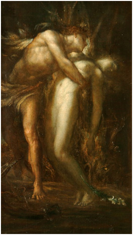 Orpheus and Eurydice, George Frederic Watts, 1900-1903 © Watts Gallery Trust