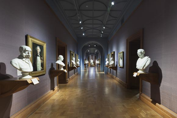 Virtual Gallery rooms - National Portrait Gallery