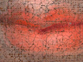 Micro 06. Detail of the boy's lips (7.1 x mag…