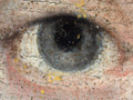 Micro 01. Detail of the eye on the left, with…
