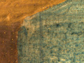Micro 15. Corner of the tablecloth, showing g…
