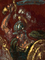 Micro 11. Detail of St George on the Garter m…