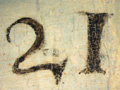 Micro 10. Detail of inscription (right-hand s…