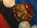 Micro 14. Detail of the headdress showing the…