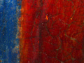 Micro 19. Detail of flecks of gold leaf benea…