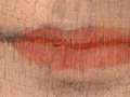 Micro 04. Detail of lips showing abrasion and…