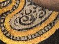 Micro 10. Detail of ruff showing abraded gold…