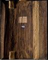 Reverse 01. Back of the panel in raking light…