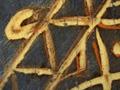 Micro 14. Detail of veil (7.1 x mag).
