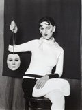 Me as Cahun Holding a Mask of My Face by Gillian Wearing. Courtesy the artist and Tanya Bonakdar Gallery, New York and Maureen Paley, London © Gillian Wearing, courtesy Maureen Paley, London