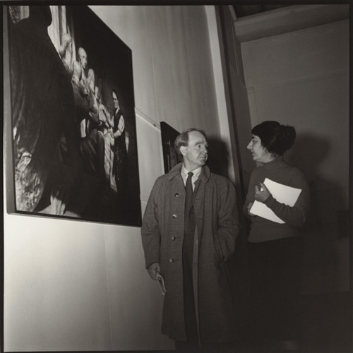 Henry Moore and Ida Kar, 1960
