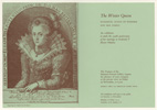 Private View card for The Winter Queen exhibition, 1963