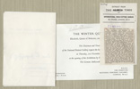 Private View invitation and press cutting concerning The Winter Queen exhibition, 1963