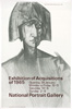 Poster advertising Recent Acquisitions exhibition, 1965