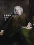 Samuel Johnson by Sir Joshua Reynolds, 1756–1757 ©National Portrait Gallery, London