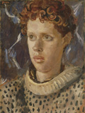 Dylan Thomas, by Augustus John, oil on canvas, circa 1937-8 © estate of Augustus John / Bridgeman Art Library www.bridgemanart.com