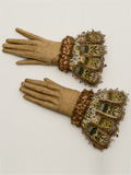 eather and silk embroidered gloves, The Glove Collection Trust, Courtesy of the Fashion Museum, Bath and North East Somerset Council