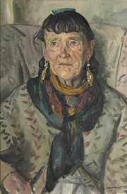 Old Gypsy Woman, 1938, oil on canvas, Private Collection