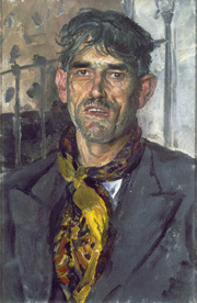 The Gypsy, 1939, oil on canvs, Tate: Presented by the Trustees of the Chantrey Bequest, 1939