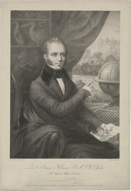 James Holman by Maxim Gauci, printed by Graf & Soret, published by Andrews & Co, lithograph, early 19th century. © National Portrait Gallery, London