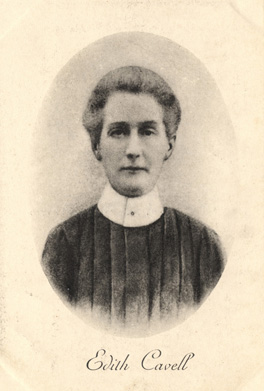Edith Cavell by an unknown photographer, 1910s. © National Portrait Gallery, London