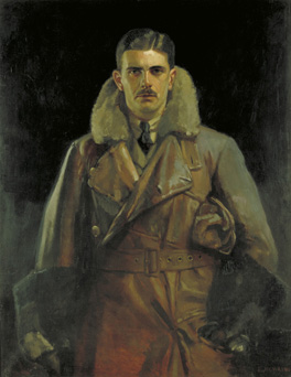 2nd Lieutenant Gilbert S. M. Insall by Edward Newling, 1919.  Imperial War Museums © WM ART 2629