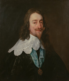 King Charles I by Sir Anthony van Dyck, c. 1636 © By kind permission of the Chequers Trust