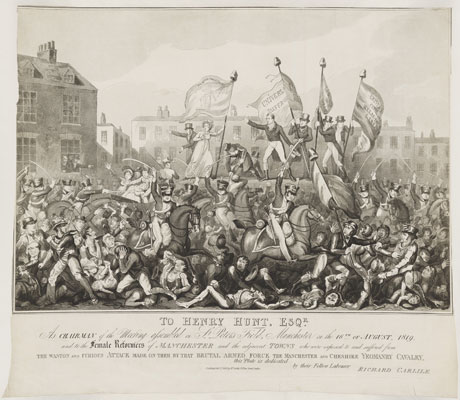 Peterloo 1819: Democracy, Protest and Justice - National Portrait Gallery