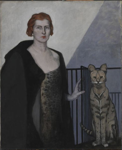 Fig. 2. La Baronne Emile d'Erlanger by Romaine Brooks, c. 1924 © Smithsonian American Art Museum (1968.18.5)