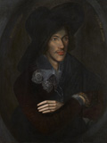 John Donne, by an Unknown English artist, oil on panel, circa 1595, NPG 6790