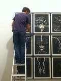 Art Handlers - Installing Susan Aldworth: The Portrait Anatomised