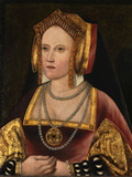 Katherine of Aragon, by an Unknown artist, oil on panel, c. 1520, L246. By permission of the Archbishop of Canterbury and the Church Commissioners.