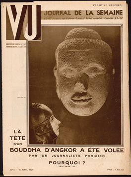 Front cover of Vu, Issue No. 5 (18 April 1928) Private Collection
