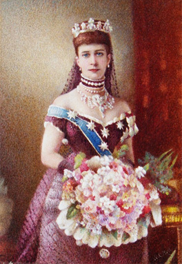 Queen Alexandra by W.C. Bell after Alexander Bassano, 1881 or after