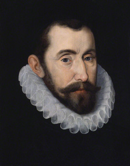 Sir Francis Walsingham, by an Unknown artist, oil on panel, late sixteenth century, NPG 1704
