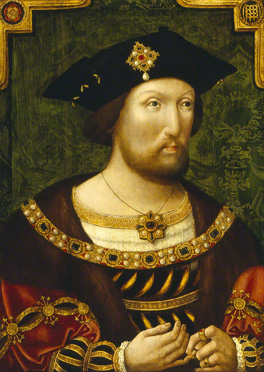 Henry VIII, by an Unknown artist, oil on panel, c. 1520, NPG 4690
