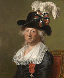 Chevalier D'Eon by Thomas Stewart, after Jean Laurent Mosnier, oil on canvas, 1792, NPG 6937
