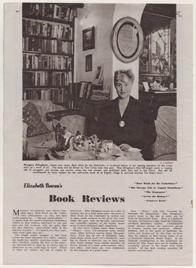 Margery Allingham by Francis Goodman, published 23 February 1949 in The Tatler and Bystander, NPGx195047 © All Rights Reserved