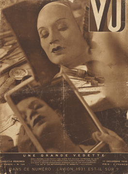 Front cover of Vu, Issue No. 144 (17 December 1930) Private Collection