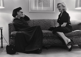 Edith Sitwell and Marilyn Monroe, 1953 Photograph by George Silk/LIFE © Time Inc.
