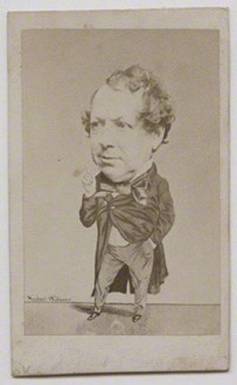 John Baldwin Buckstone, by Herbert Watkins, albumen carte-de-visite, late 1850s, NPG x137554, © National Portrait Gallery, London