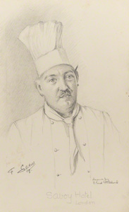 François Latry by Florence  Enid Stoddard, circa 1937, given by Christine Hayes, D42428