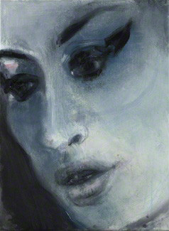 Amy Jade Winehouse ('Amy-Blue'), by Marlene Dumas, oil on canvas, 2011, NPG 6948