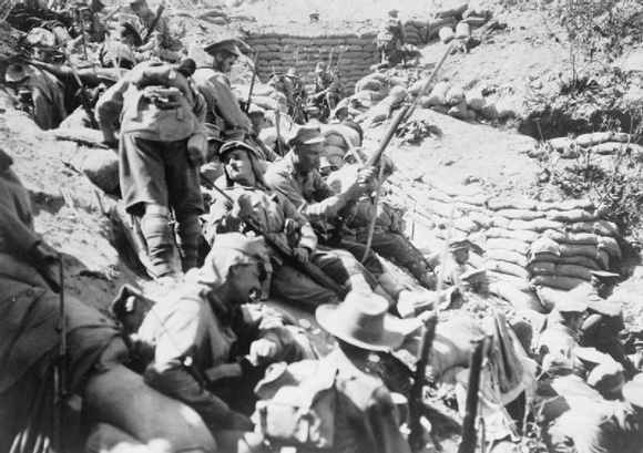 Australian troops in Gallipoli, 1915-16 HU 50622, Imperial War Museum