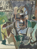 T.S. Eliot: Cubist Version by Patrick Heron, 194–8 © The estate of Patrick Heron. All Rights Reserved, DACS, 2013